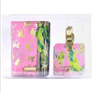 Lilly Pulitzer Chimpoiserie Travel Set, NWT